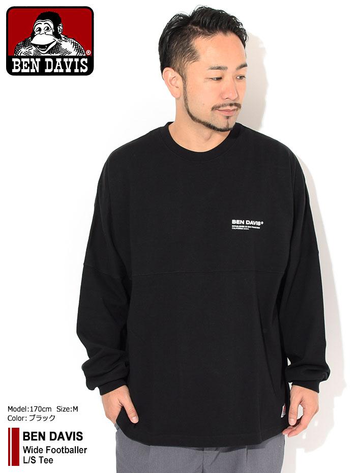 BEN DAVISベンデイビスのTシャツ Wide Footballer01