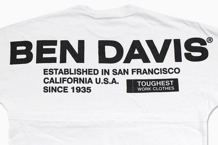 BEN DAVISベンデイビスのTシャツ Wide Footballer10
