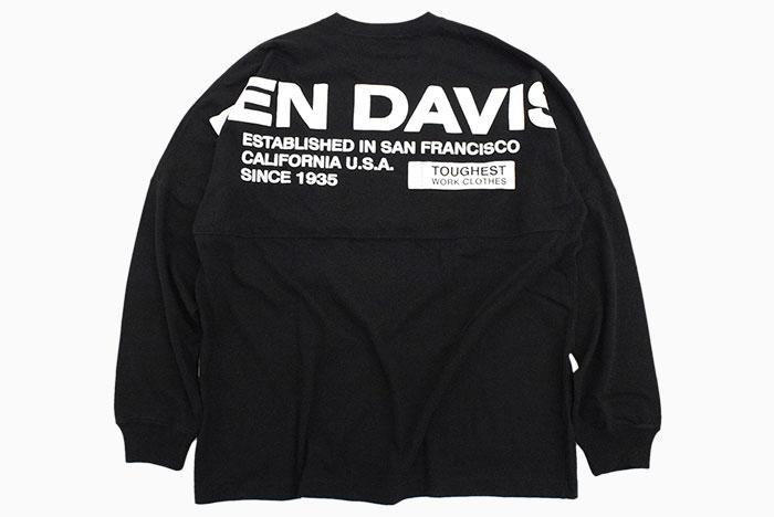 BEN DAVISベンデイビスのTシャツ Wide Footballer09