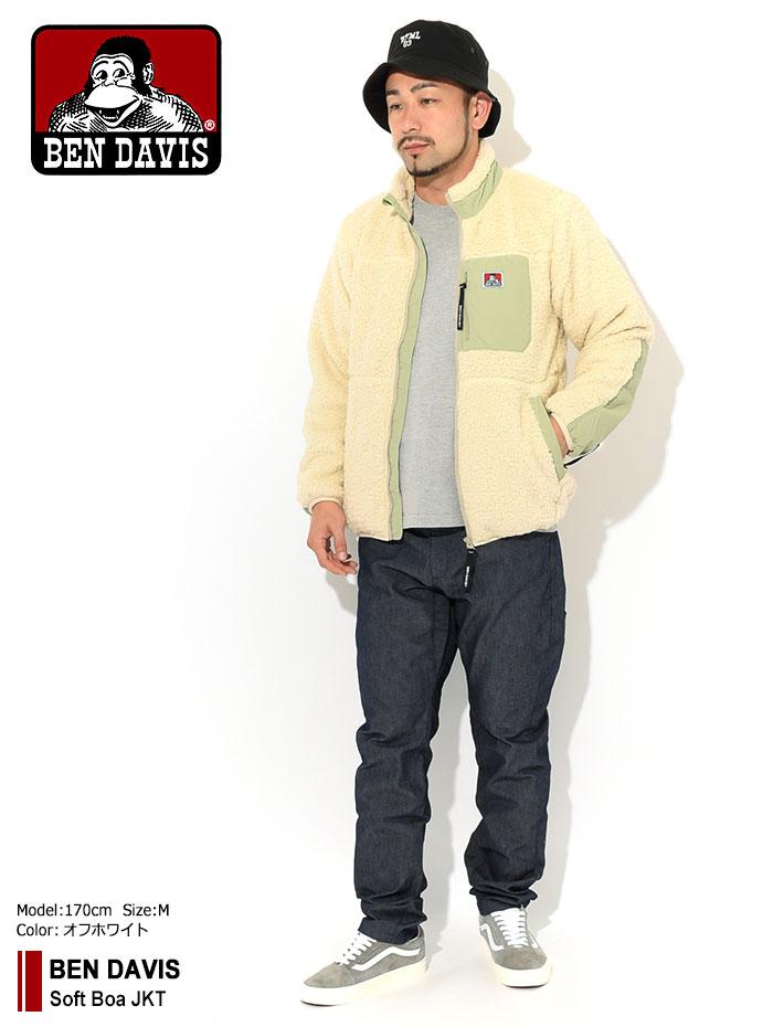 BEN DAVISベンデイビスのジャケット Soft Boa01