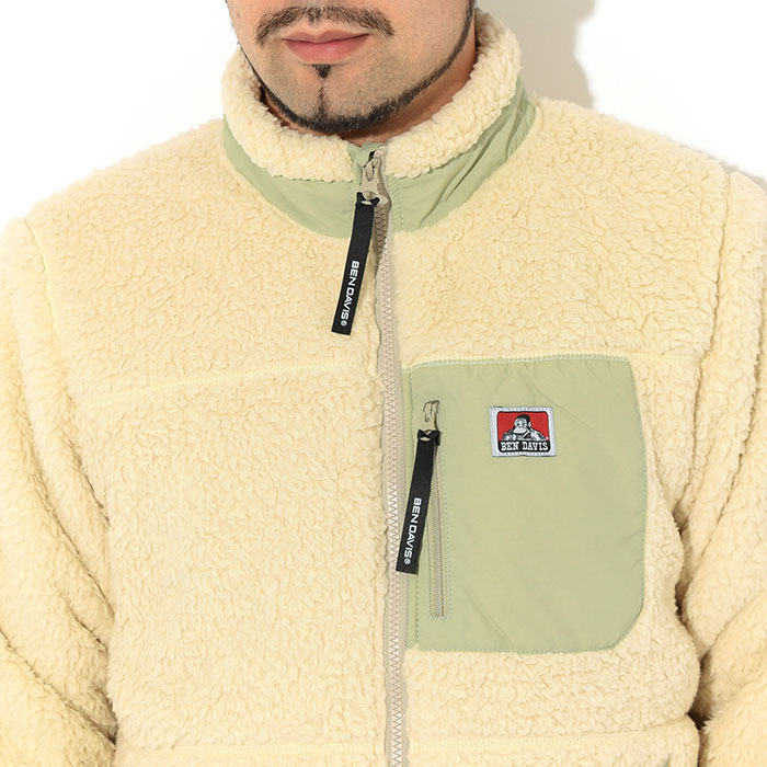BEN DAVISベンデイビスのジャケット Soft Boa04