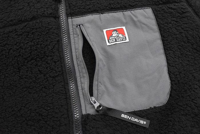 BEN DAVISベンデイビスのジャケット Soft Boa07