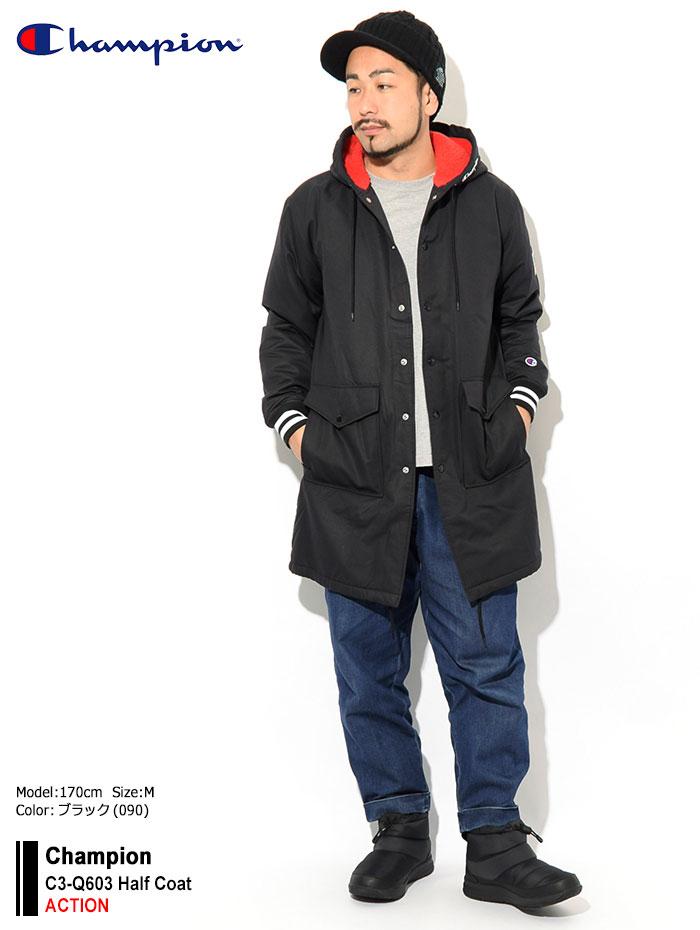 Championチャンピオンのジャケット C3-Q603 Half Coat01