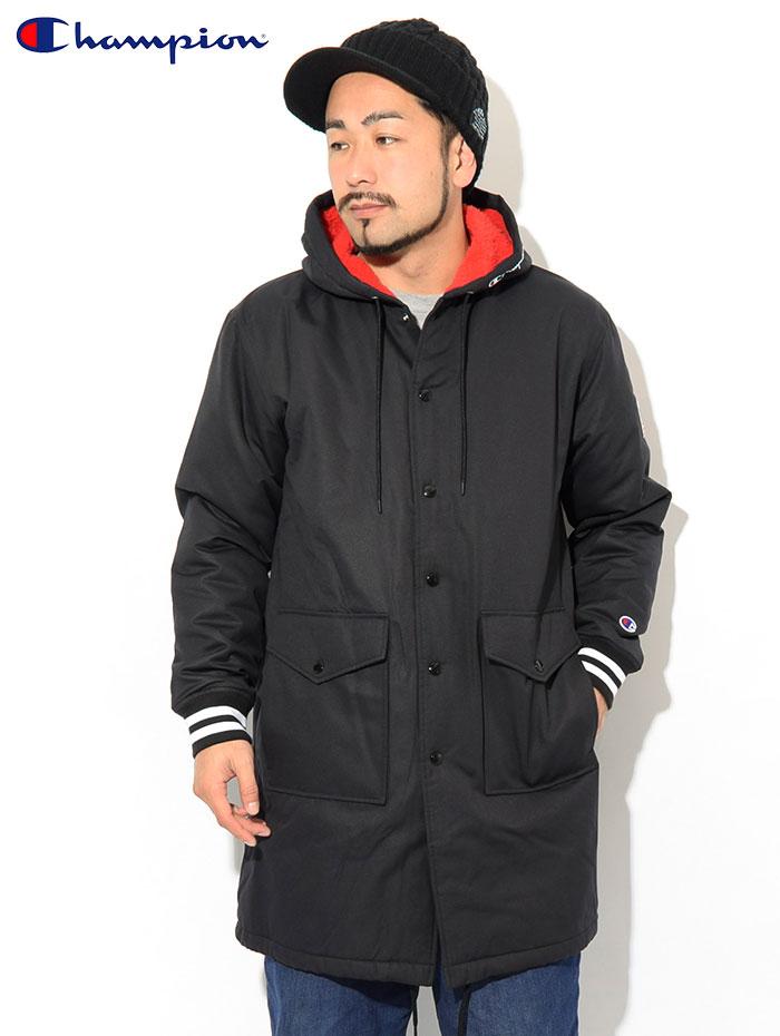 Championチャンピオンのジャケット C3-Q603 Half Coat02