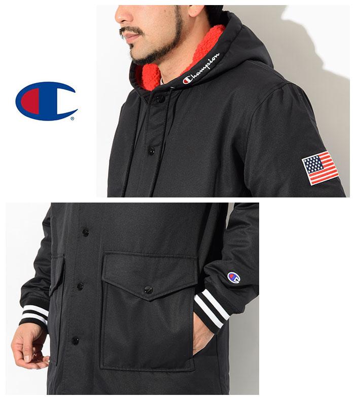Championチャンピオンのジャケット C3-Q603 Half Coat05