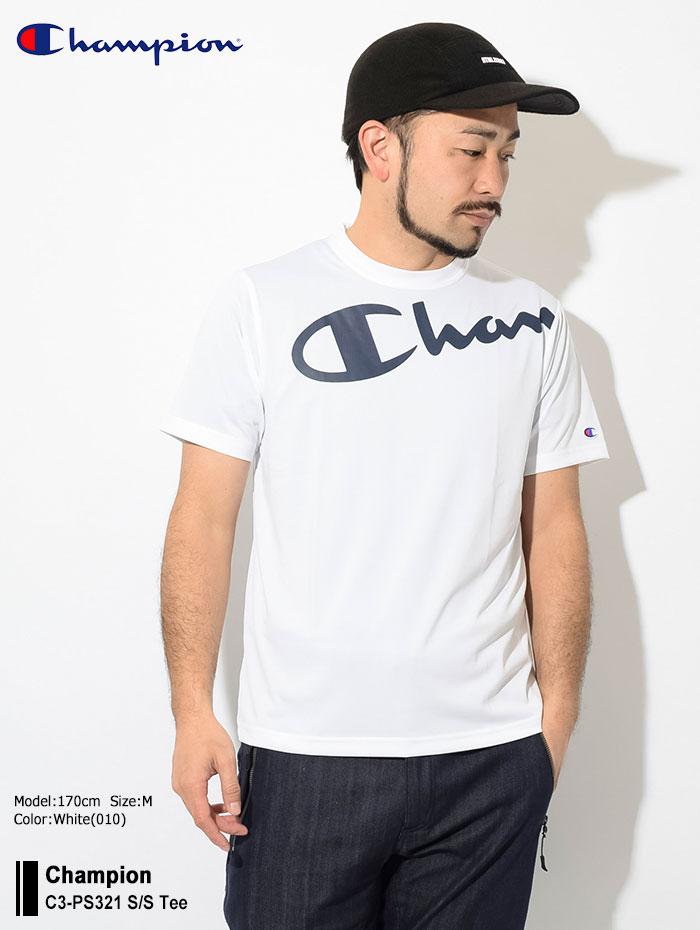ChampionチャンピオンのTシャツ C3-PS321 01
