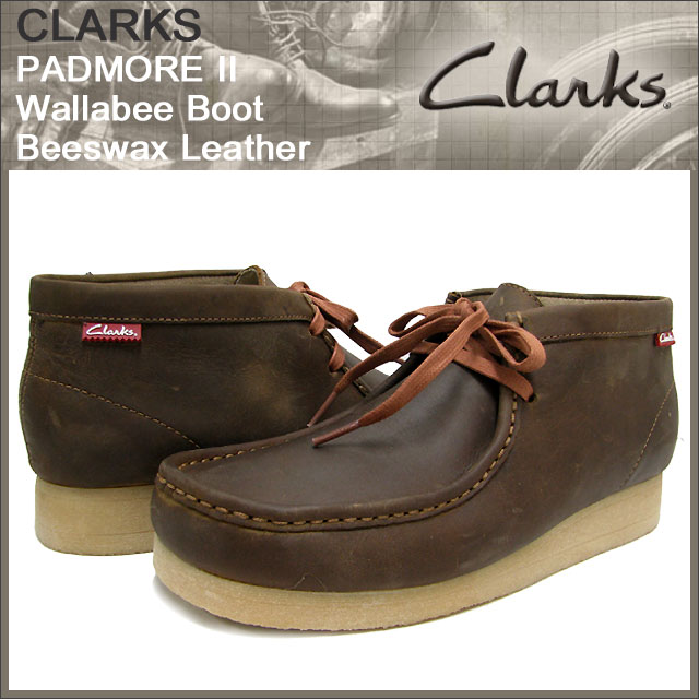 58003aa285d ice field: Clarks CLARKS Padmore 2 Wallaby boots beads wax leather ...