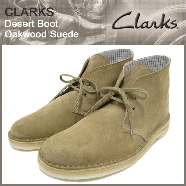 Ice Field 70529 Clarks Desert Boot Oakwood Suede Ice Filed