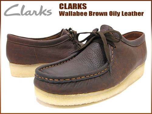 9ce364146c ice field: Clarks CLARKS Wallaby ブラウンオイリー leather mens men's ...