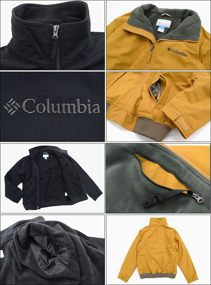 Columbiaコロンビアのジャケット ロマビスタ09