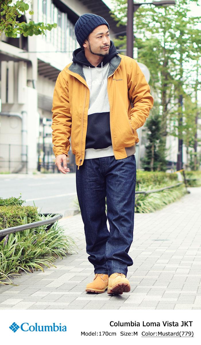 Columbiaコロンビアのジャケット ロマビスタ01