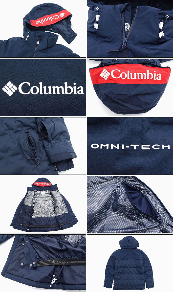 Columbiaコロンビアのジャケット Wildcard Down09