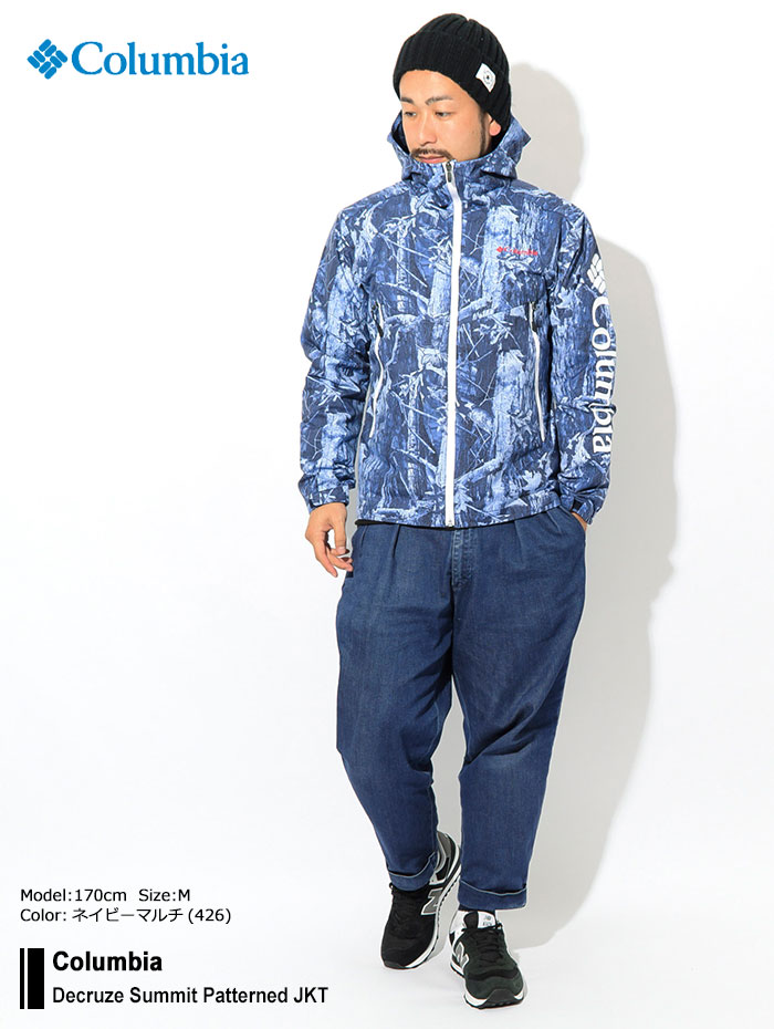 Columbiaコロンビアのジャケット Decruze Summit Patterned01