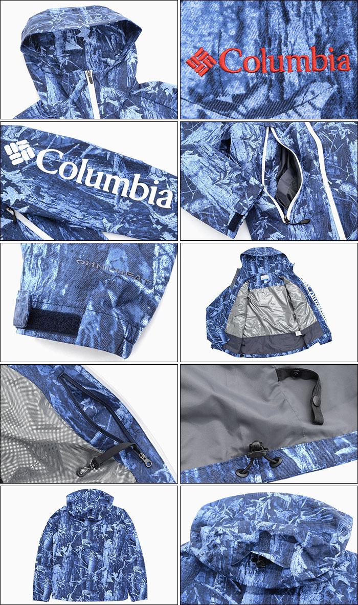 Columbiaコロンビアのジャケット Decruze Summit Patterned07