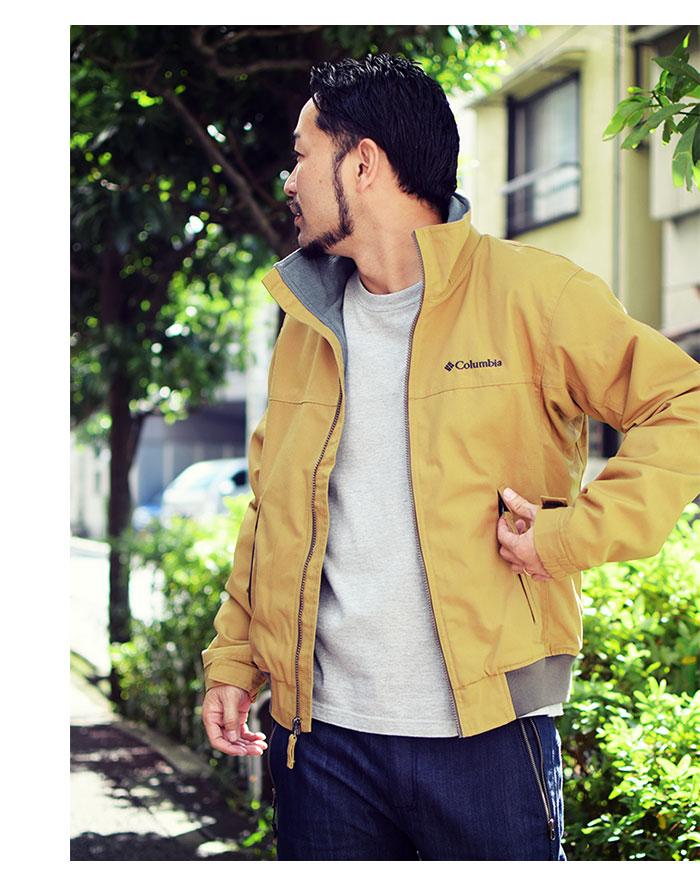 Columbiaコロンビアのジャケット ロマビスタ07