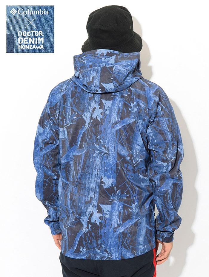 Columbiaコロンビアのジャケット Dr.Denim Honzawa Light Crest Patterned04