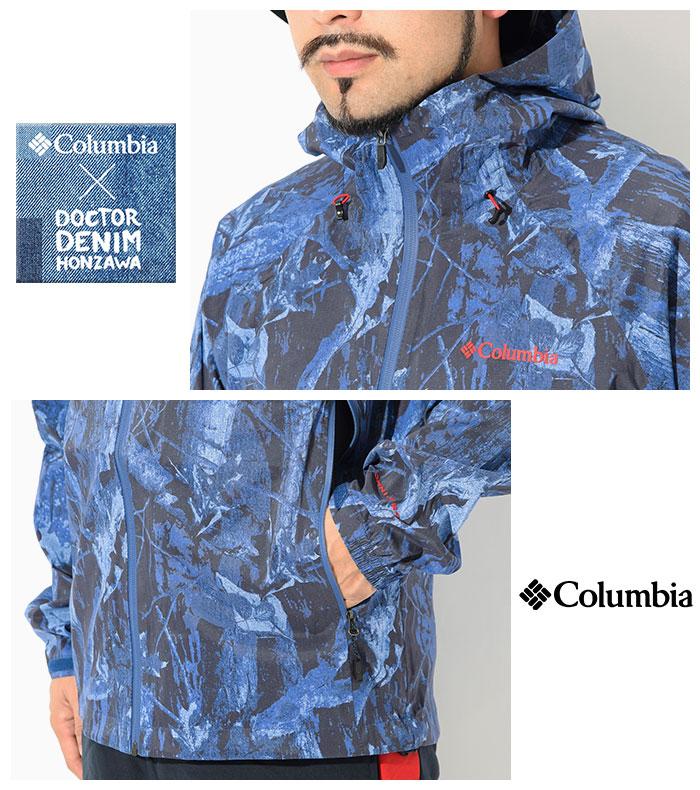 Columbiaコロンビアのジャケット Dr.Denim Honzawa Light Crest Patterned05