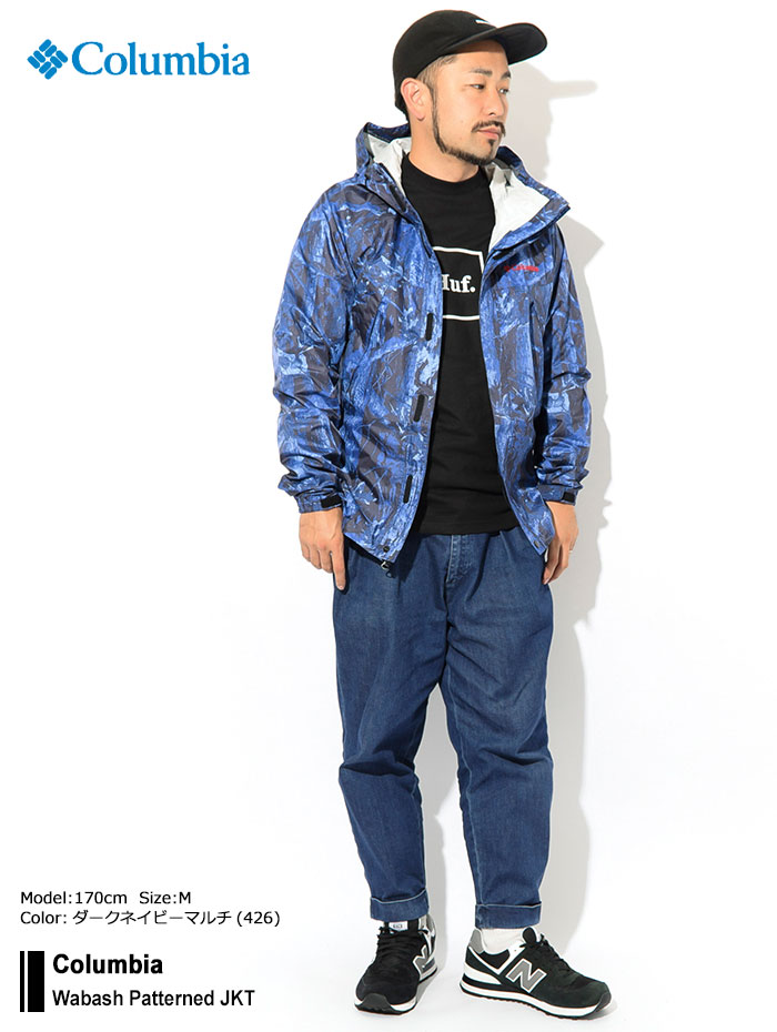 Columbiaコロンビアのジャケット Wabash Patterned01