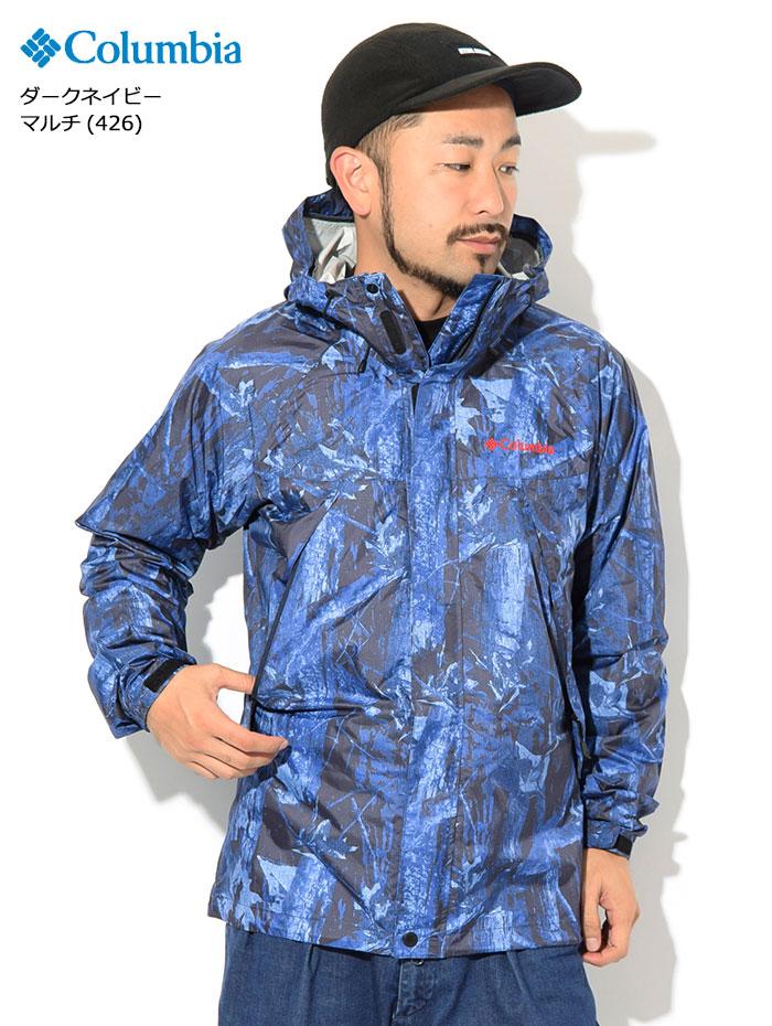 Columbiaコロンビアのジャケット Wabash Patterned02