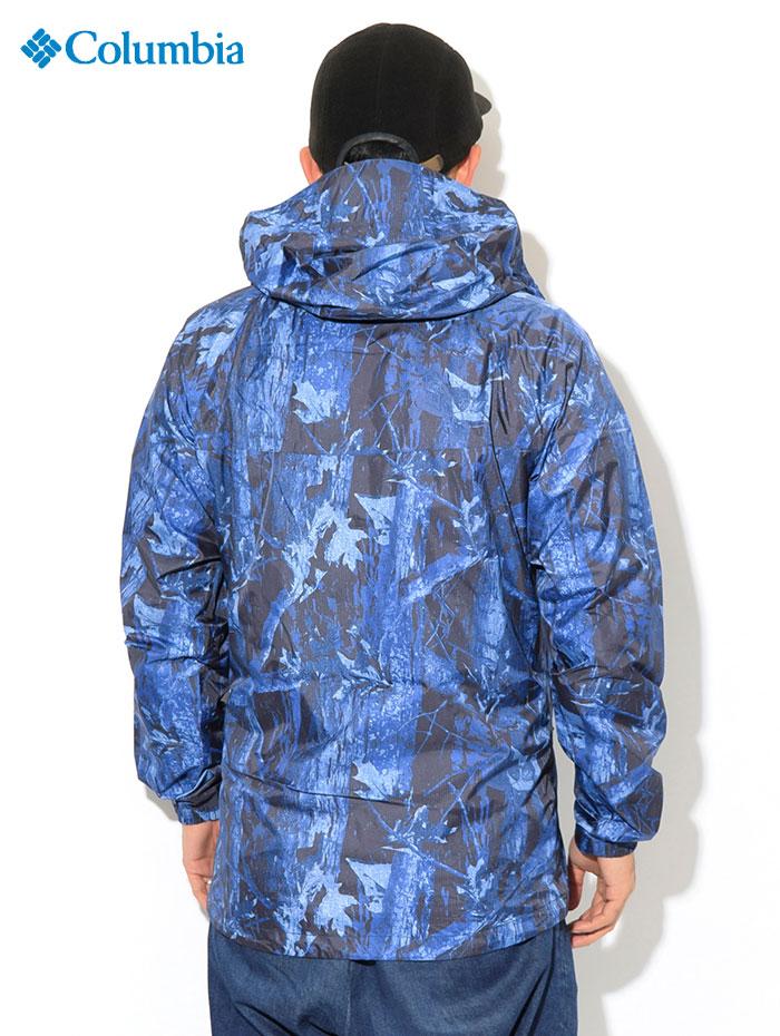 Columbiaコロンビアのジャケット Wabash Patterned03