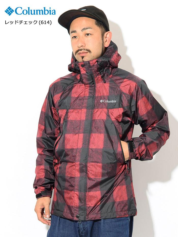 Columbiaコロンビアのジャケット Wabash Patterned04