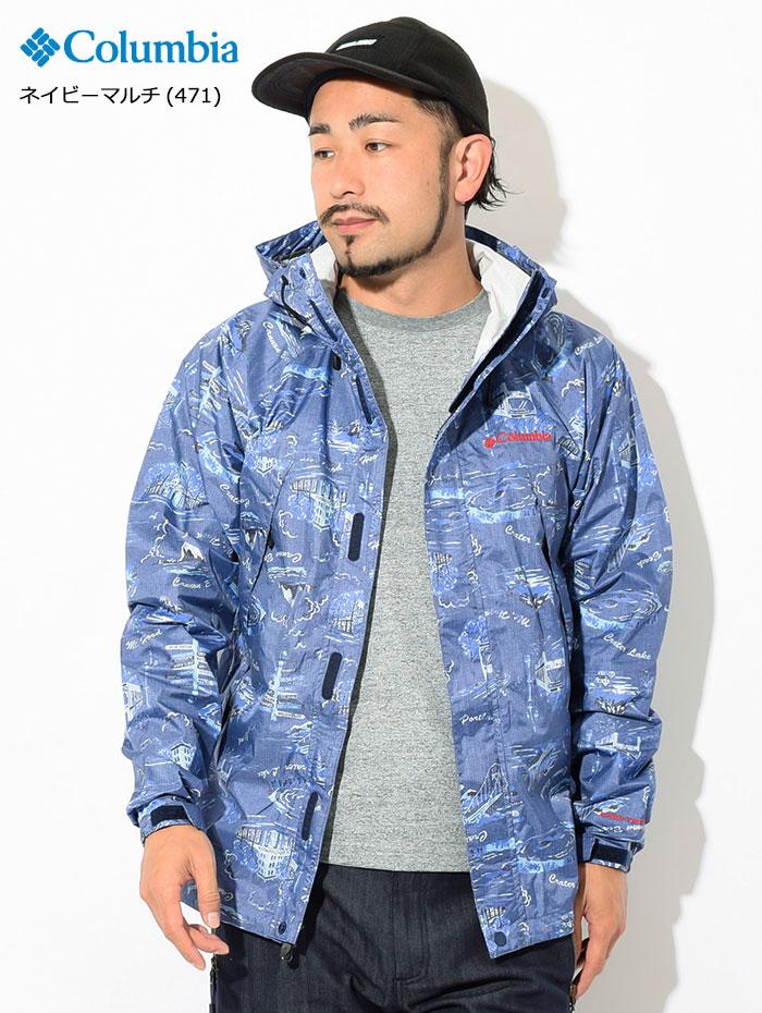 Columbiaコロンビアのジャケット Wabash Patterned05