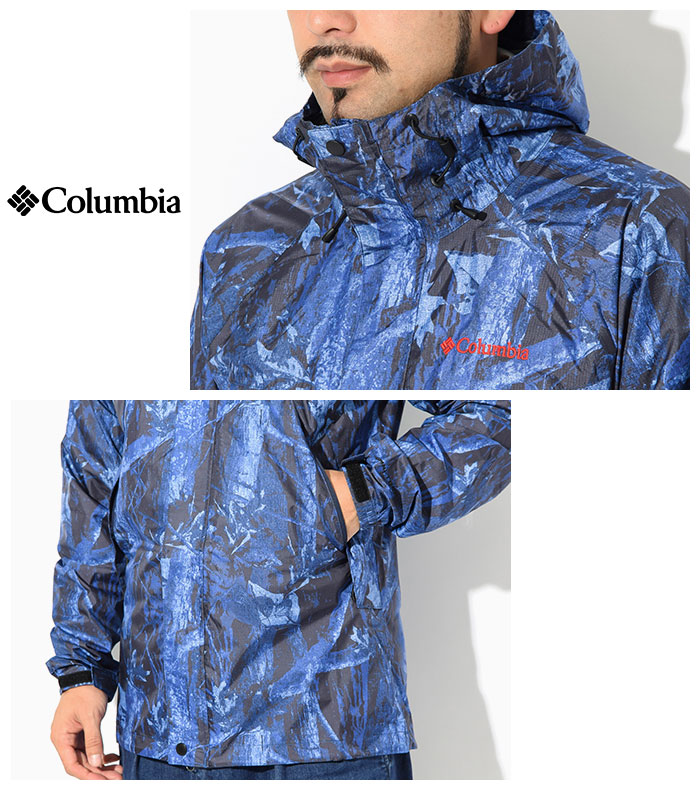 Columbiaコロンビアのジャケット Wabash Patterned06