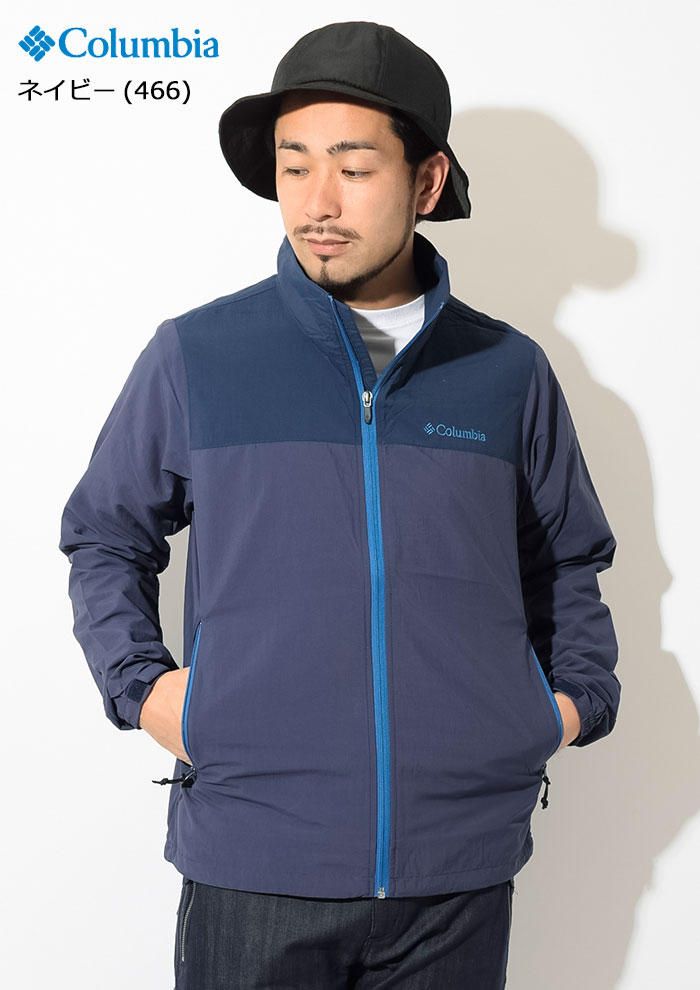 Columbiaコロンビアのジャケット Wills Isle03
