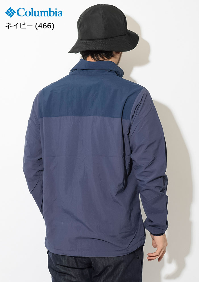 Columbiaコロンビアのジャケット Wills Isle04