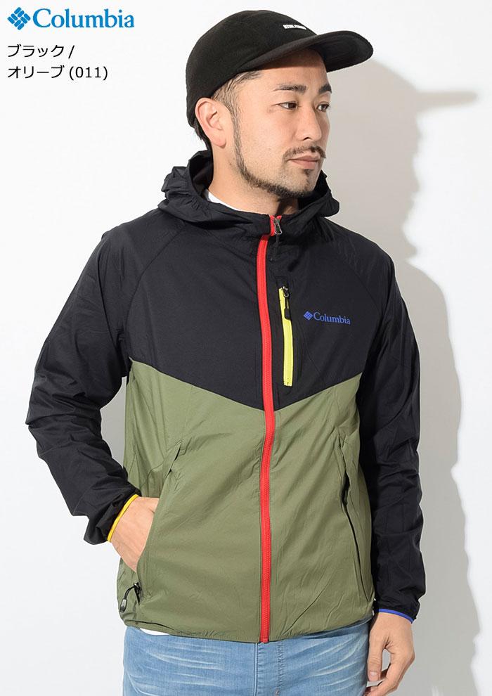 Columbiaコロンビアのジャケット Square Hike05