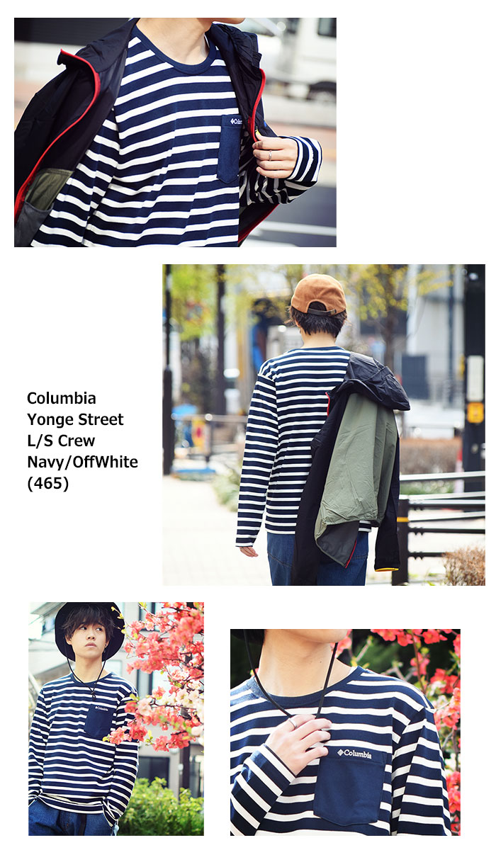 ColumbiaコロンビアのTシャツ Yonge Street Crew06