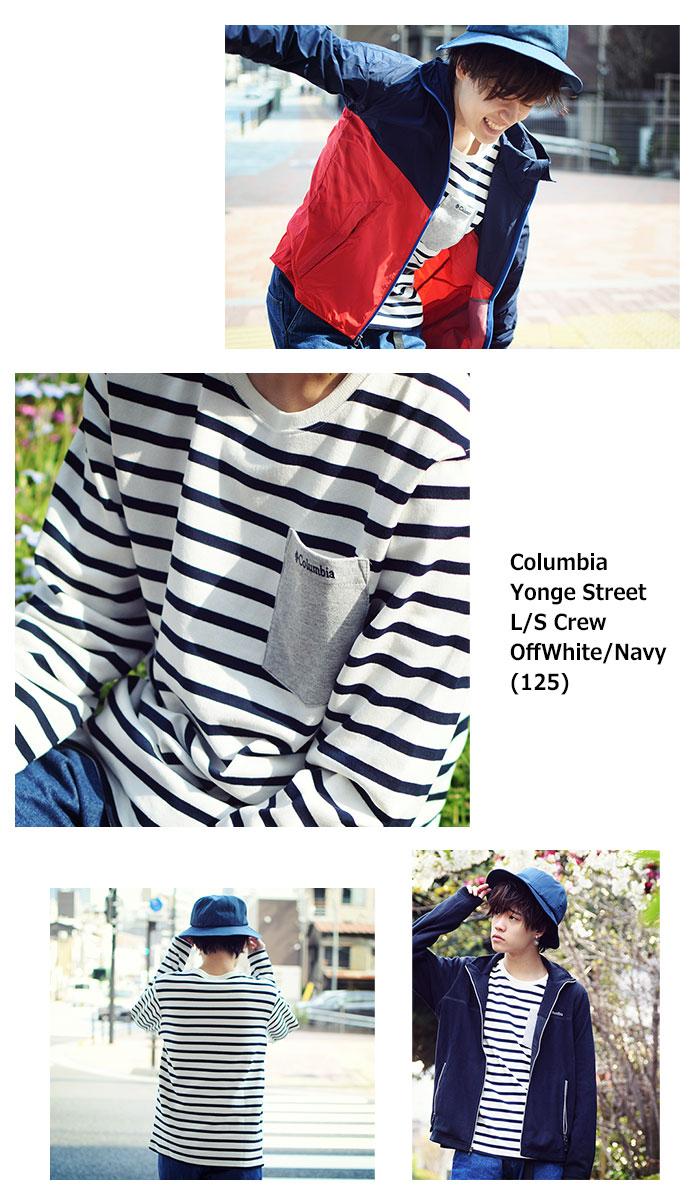 ColumbiaコロンビアのTシャツ Yonge Street Crew09