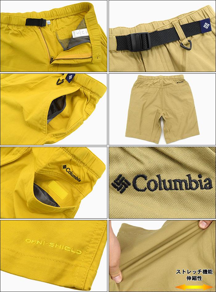 Columbiaコロンビアのパンツ Cushman Short05