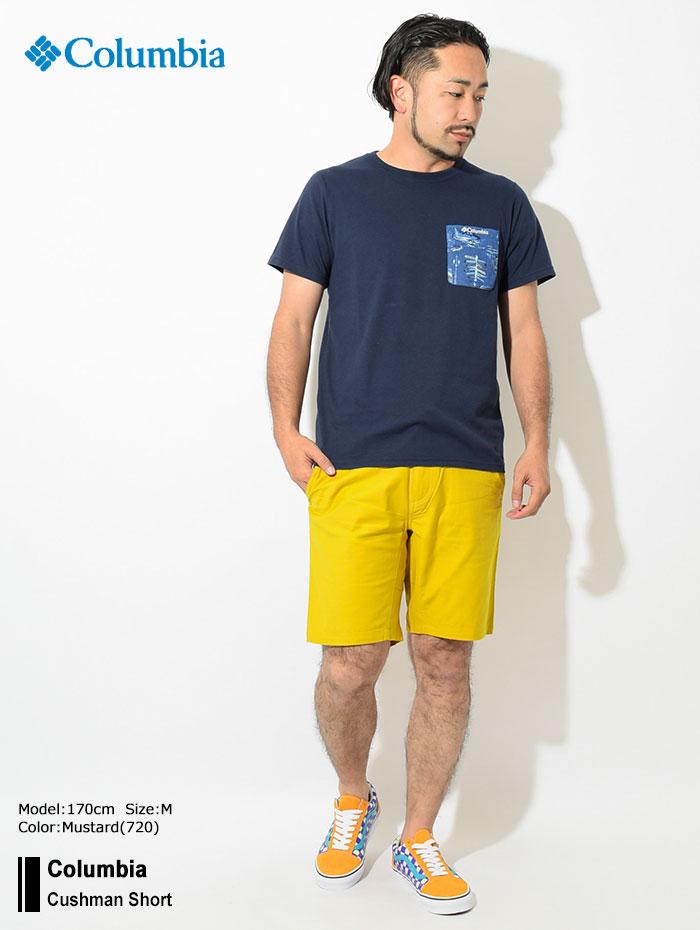 Columbiaコロンビアのパンツ Cushman Short01