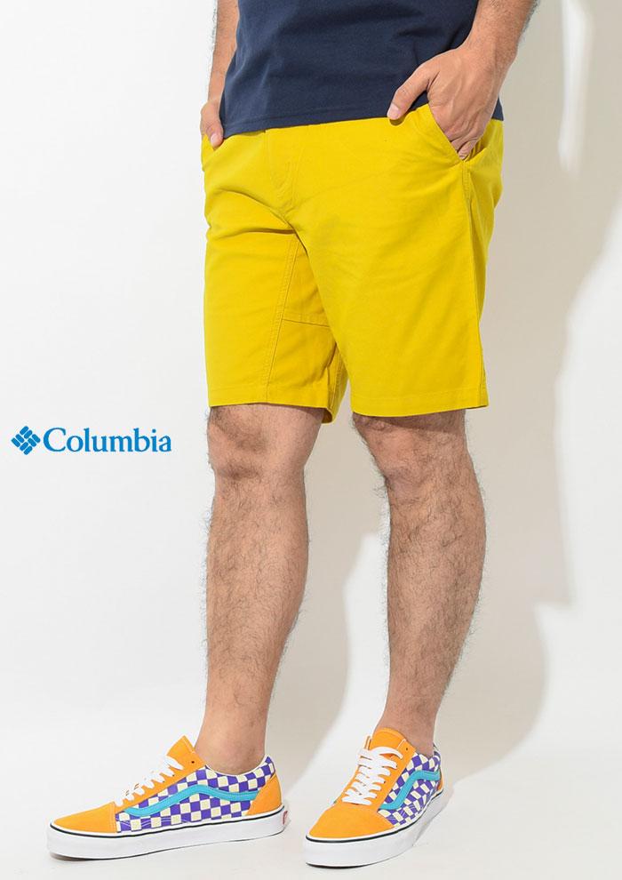 Columbiaコロンビアのパンツ Cushman Short02