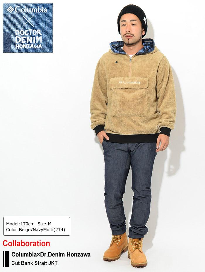 Columbiaコロンビアのジャケット Dr.Denim Honzawa Cut Bank Strait03