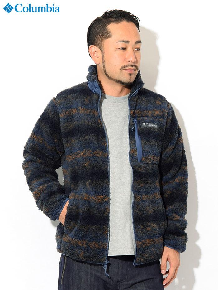 Columbiaコロンビアのジャケット Winter Pass Print Fleece Full Zip02