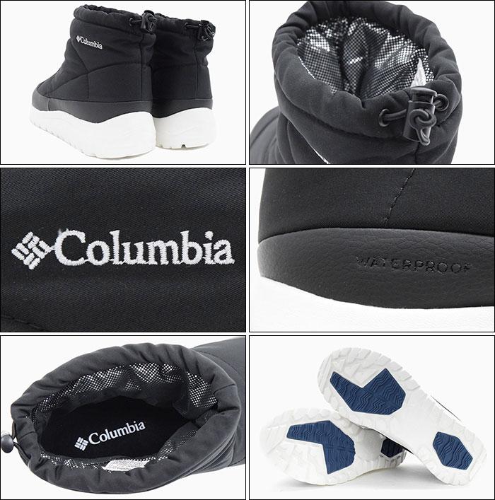 Columbiaコロンビアのブーツ SPINREEL MINI BOOT WATERPROOF OMNI-HEAT02