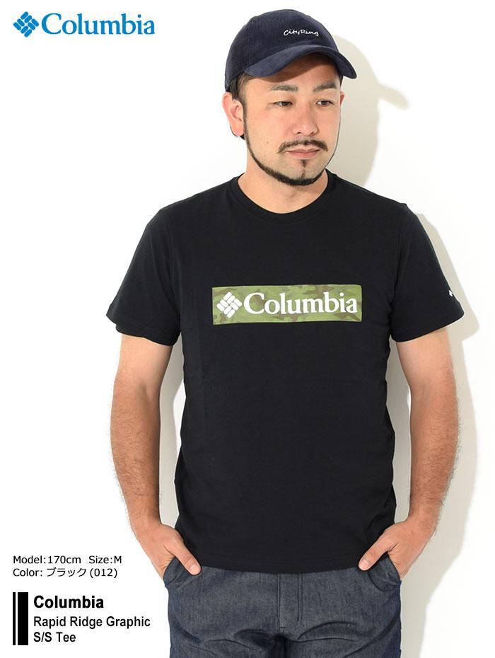 ColumbiaコロンビアのTシャツ Rapid Ridge Graphic01