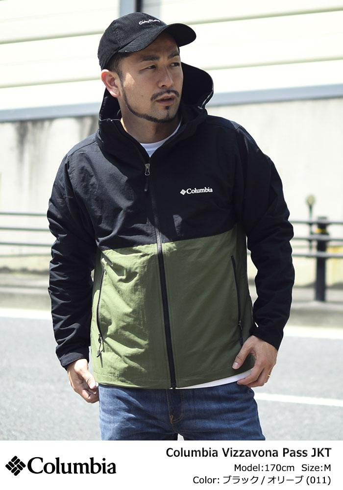 Columbiaコロンビアのジャケット Vizzavona Pass01