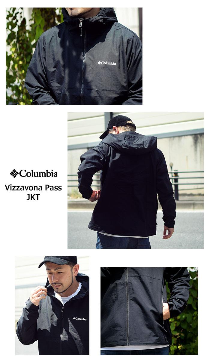 Columbiaコロンビアのジャケット Vizzavona Pass04