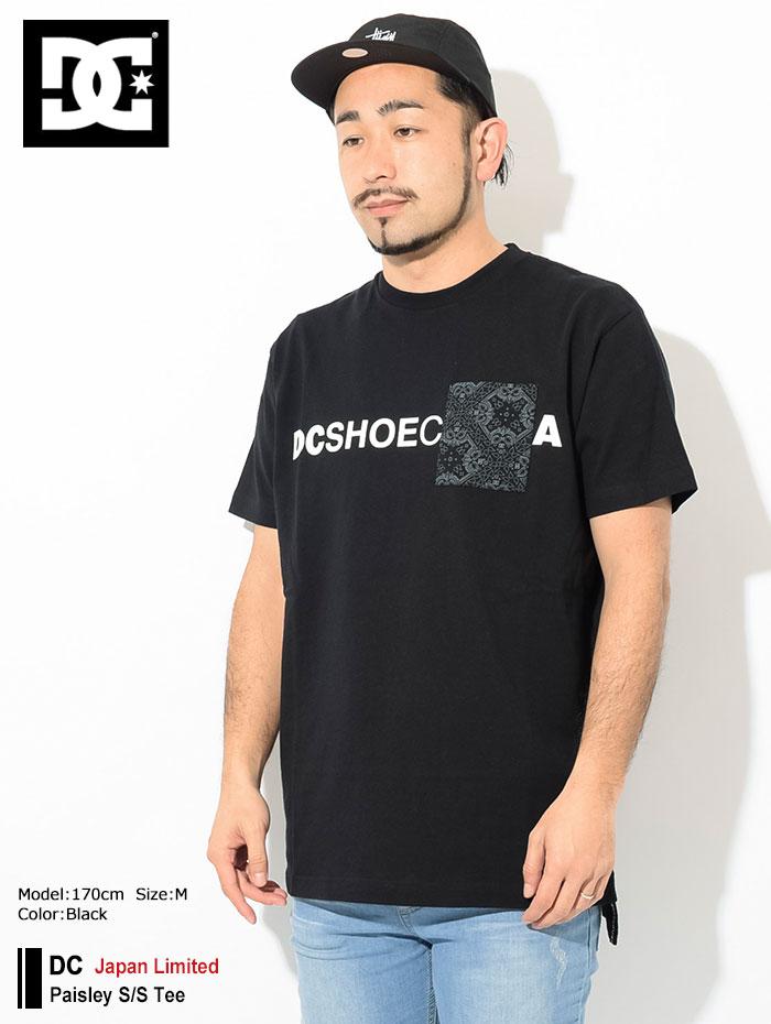DCディーシーのTシャツ Paisley01