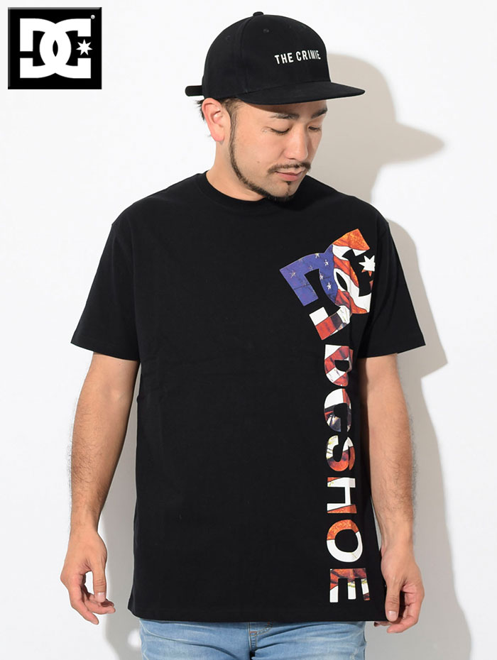 DCディーシーのTシャツ Print Vertical03