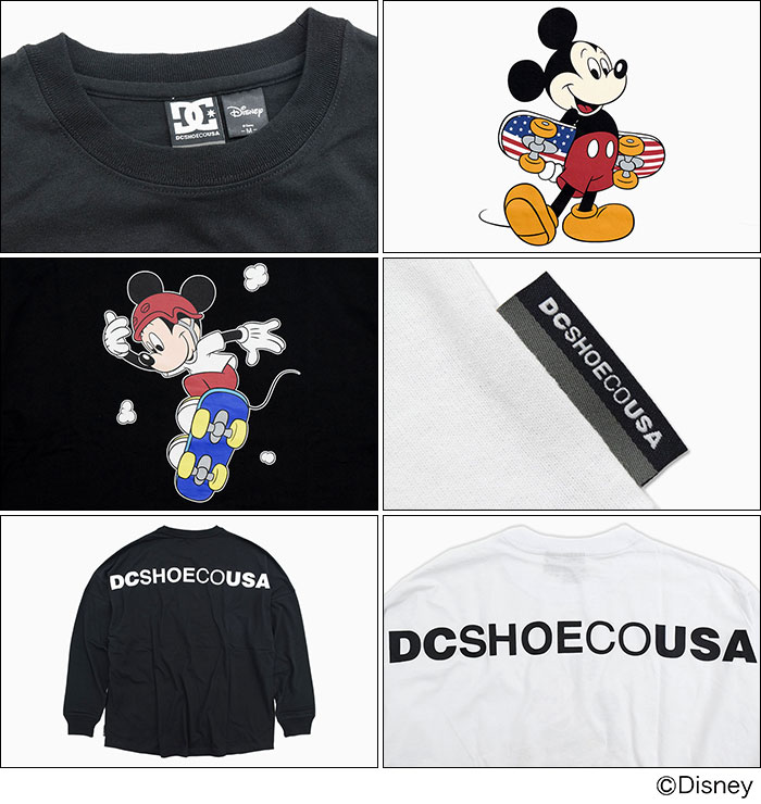 DCディーシーのTシャツ Disney Collection Mickey Print08
