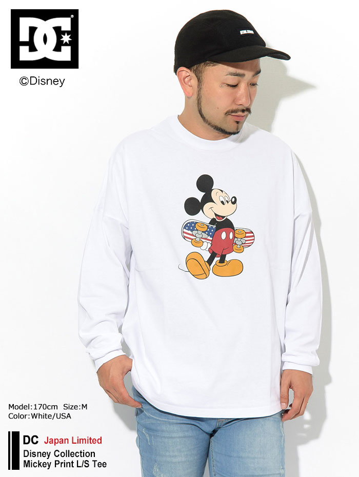 DCディーシーのTシャツ Disney Collection Mickey Print01