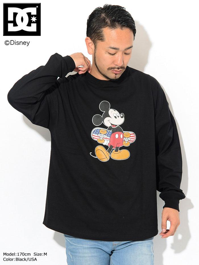 DCディーシーのTシャツ Disney Collection Mickey Print03