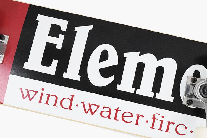 ELEMENTエレメントのスケボー Section03