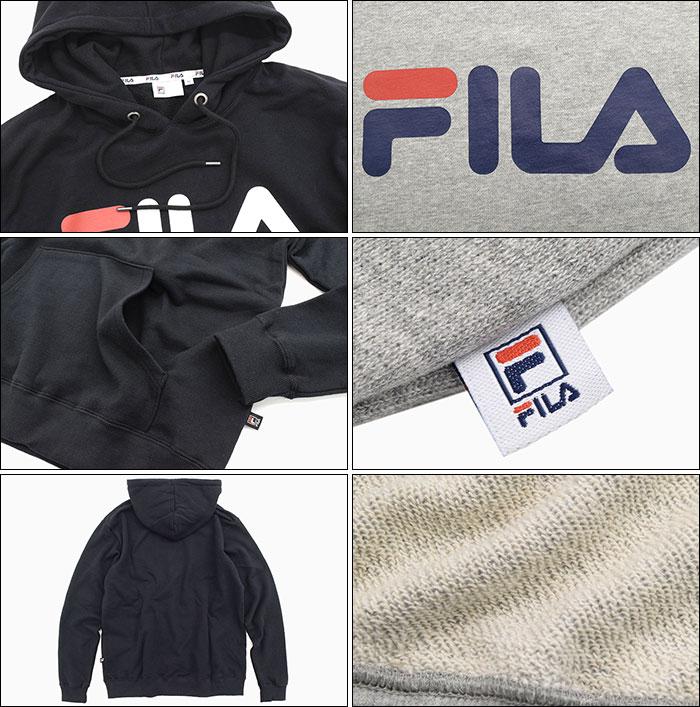 FILAフィラのパーカー Basic Logo Pullover Hoodie09
