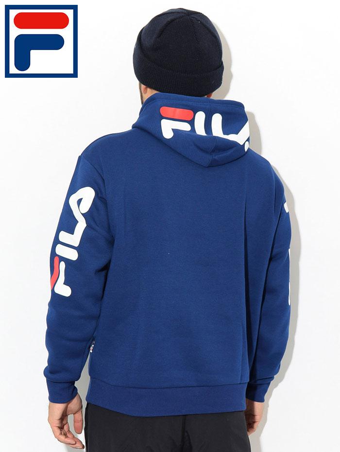FILAフィラのパーカー Hood Sleeve Logo Pullover Hoodie04