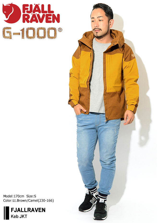 FJALLRAVENフェールラーベンのジャケット Keb01